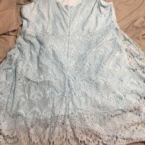 Lane Bryant Powder Blue Dress size 28